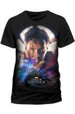 Doctor Strange Movie Tričko Plakát One Velikost XL