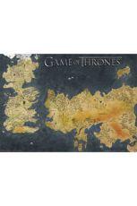 Game of Thrones Metallic Plakát Pack Westeros & Essos 50 x 70 cm (5)