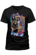 Guardians of the Galaxy 2 T-Shirt Group Pose Size XXL