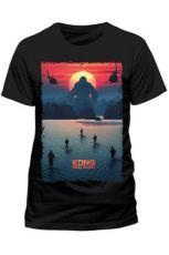 Kong Skull Island Tričko Plakát Velikost M