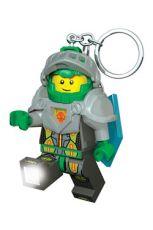 Lego Nexo Knights Mini-Flashlight a Přívěsky na klíče Aaron