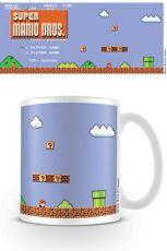 Super Mario Bros. Hrnek Retro Title