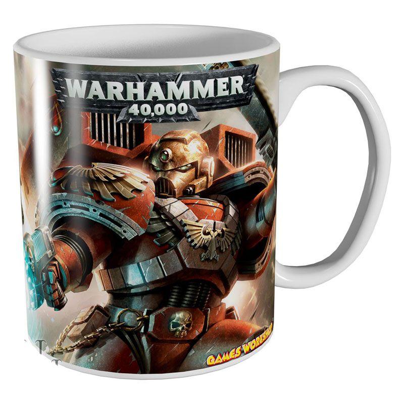 Warhammer 40000 hrnek s potiskem Blood Angels