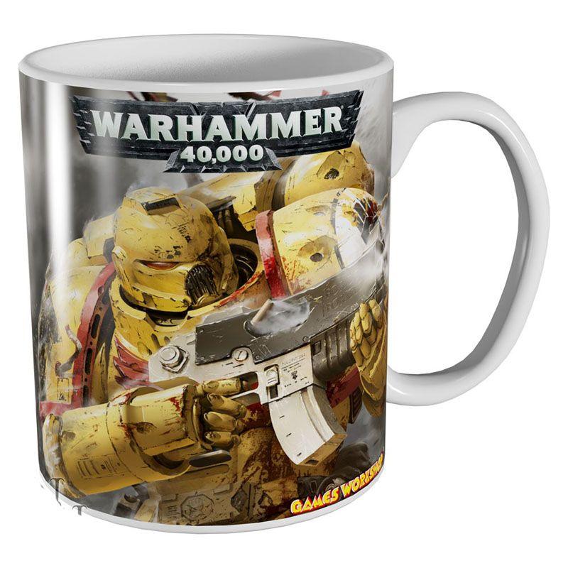 Warhammer 40000 hrnek s potiskem Imperial Fists