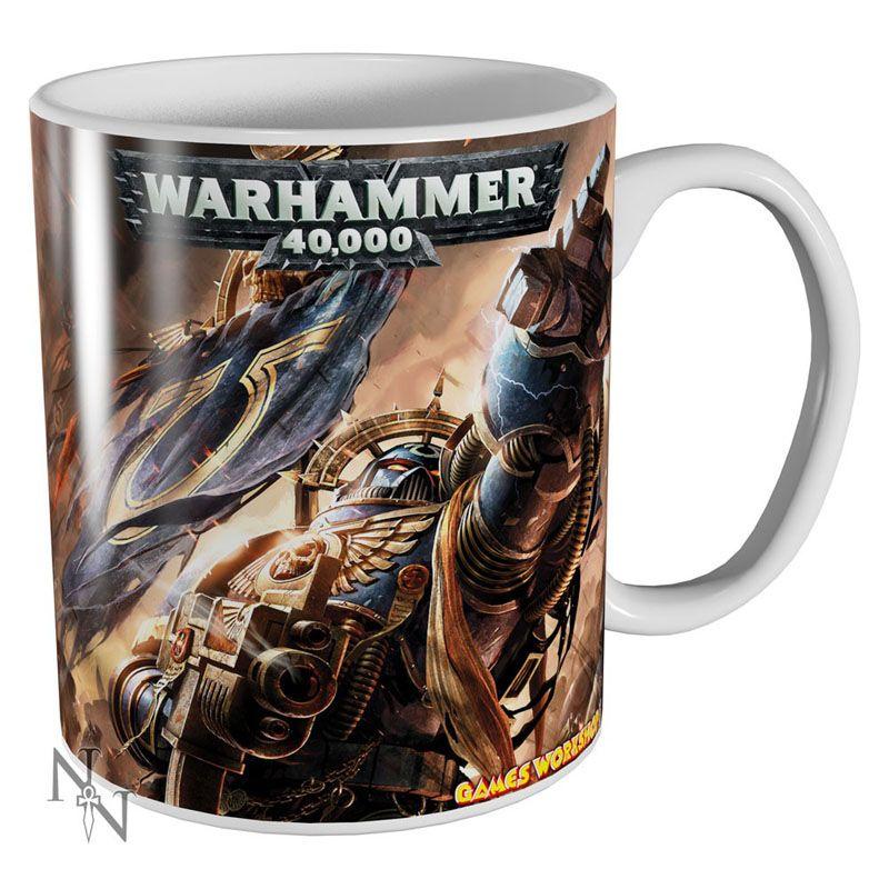 Warhammer 40000 hrnek s potiskem Ultramarines