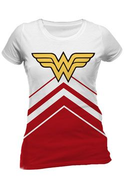 DC Comics Dámské Tričko Wonder Woman Cheerleader Logo Velikost M