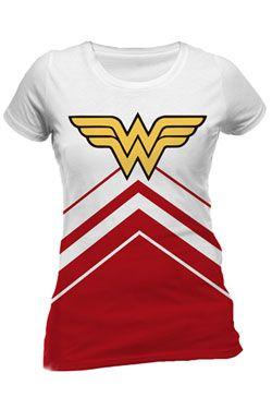 DC Comics Dámské Tričko Wonder Woman Cheerleader Logo Velikost XL