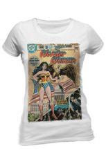 DC Comics Dámské Tričko Wonder Woman Justice League Vintage Comic Velikost L