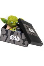 Star Wars Black Line Plyšák Figure Yoda 25 cm