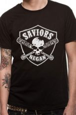 The Walking Dead Tričko Saviours Crest Velikost XL