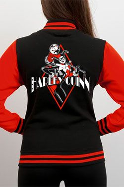 Batman Varsity Bunda Harley Quinn Diamond Velikost M CID