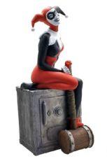 DC Comics Bysta Pokladnička Harley Quinn 27 cm