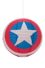 Marvel Comics Paper Light clona na lampu Captain America 30 cm