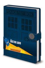 Doctor Who Premium Poznámkový Blok A5 Tardis