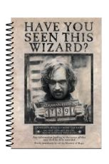 Harry Potter Poznámkový Blok A5 Wanted Sirius Black
