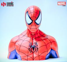 Marvel Comics Coin Pokladnička Spider-Man 17 cm Semic