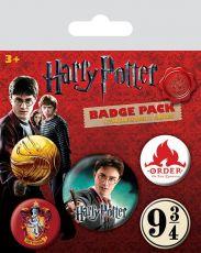 Harry Potter Pin Placky 5-Pack Nebelvír Pyramid International