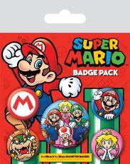 Super Mario Pin Placky 5-Pack Pyramid International