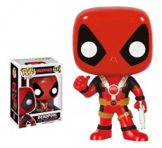 Marvel Comics POP! vinylová Bobble-Head Deadpool Thumb Up 10 cm Funko