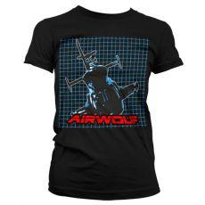 Dámské tričko Airwolf Pattern
