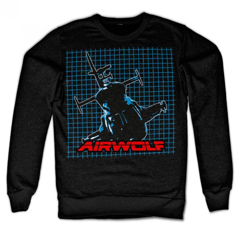 Airwolf módní mikina s potiskem