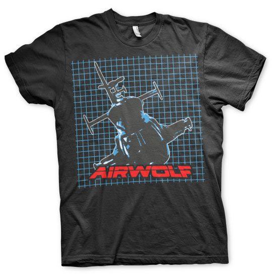 Airwolf módní pánské tričko s potiskem Pattern
