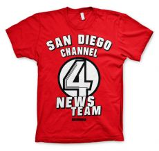 Pánské tričko Zprávař San Diego Channel 4