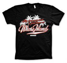 Pánské tričko Zprávař Whore Island