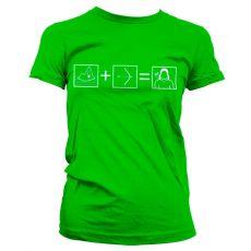 Dámské tričko Arrow Riddle