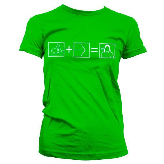 Arrow módní dámské tričko s potiskem Riddle