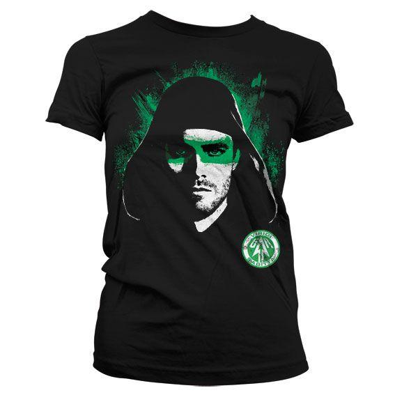 Arrow módní dámské tričko s potiskem Viridi Sagitta