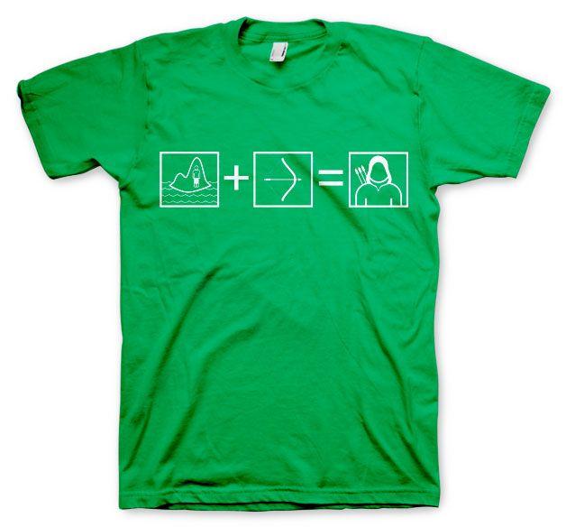 Arrow módní pánské tričko s potiskem Riddle