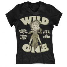 Dámské tričko Betty Boop MC Club