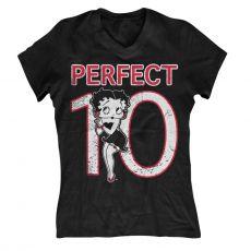 Dámské tričko Betty Boop Perfect 10