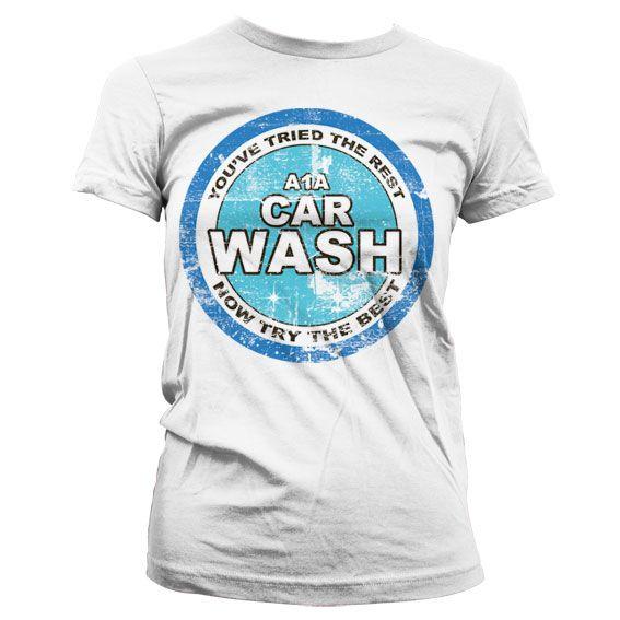 Breaking Bad dámské stylové tričko s potiskem A1A Car Wash