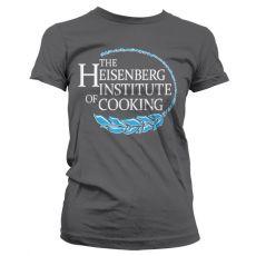Perníkový Táta dámské tričko Heisenberg Institute Of Cooking