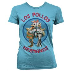 Perníkový Táta dámské tričko Los Pollos Hermanos modré