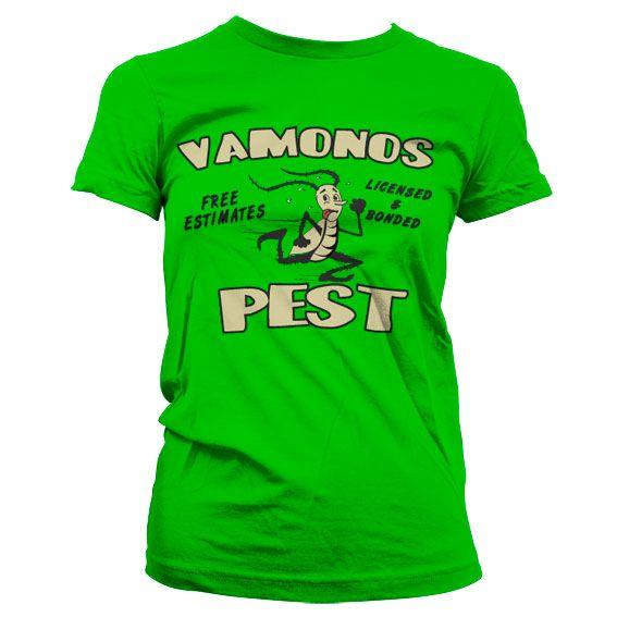 Breaking Bad dámské stylové tričko s potiskem Vamanos Pest