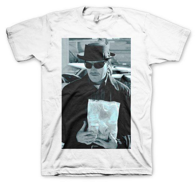 Breaking Bad pánské tričko s potiskem Heisenberg Money Bag