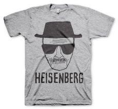 Perníkový Táta šedé pánské tričko Heisenberg Sketch