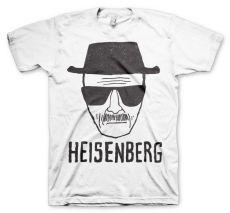 Perníkový Táta pánské bílé tričko Heisenberg Sketch