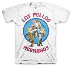 Bílé pánské tričko Perníkový Táta Los Pollos Hermanos