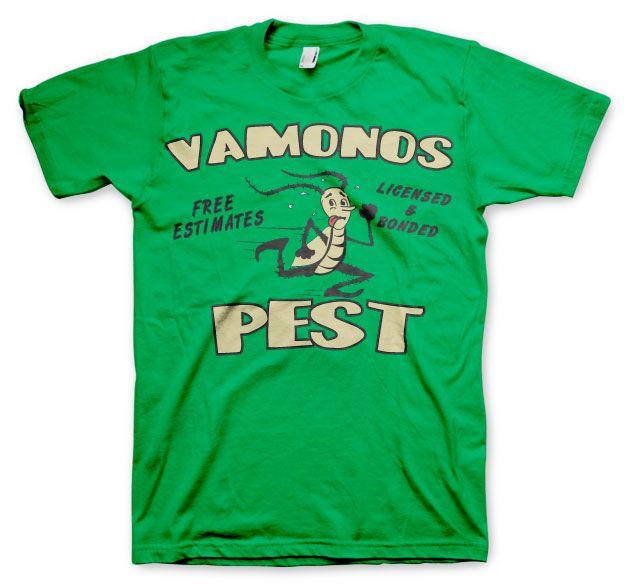 Breaking Bad pánské tričko s potiskem Vamanos Pest