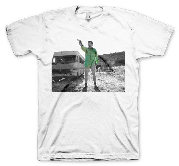 Breaking Bad pánské tričko s potiskem Walter White Duotone