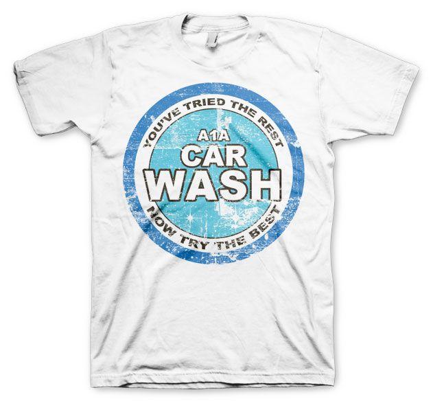 Breaking Bad stylové tričko s potiskem A1A Car Wash