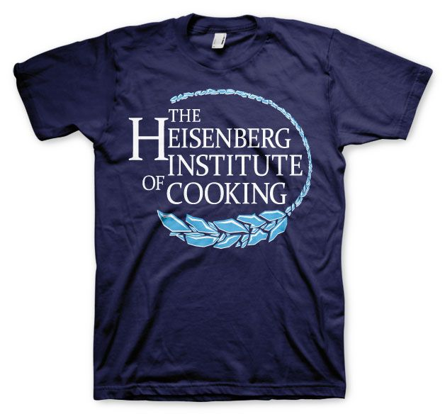 Breaking Bad stylové tričko s potiskem Heisenberg Institute Of Cooking