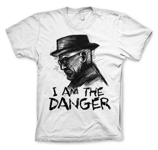 Breaking Bad stylové tričko s potiskem I Am The Danger