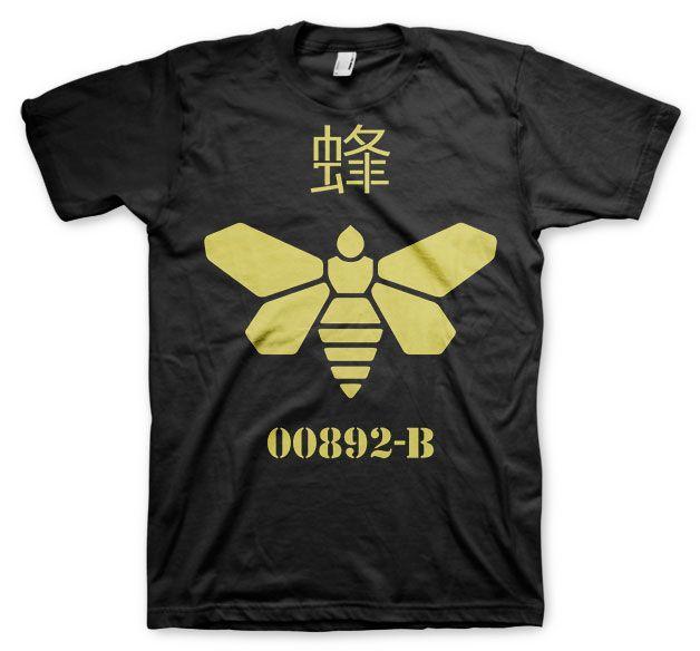 Breaking Bad stylové tričko s potiskem Methlamine Barrel Bee