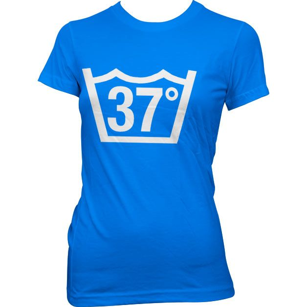 Dámské triko s humorným potiskem 37 Celcius