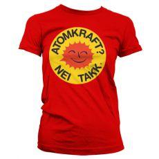 Dámské tričko Atomkraft - Nei Takk